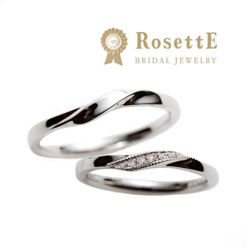 神戸三ノ宮ロゼット泉結婚指輪