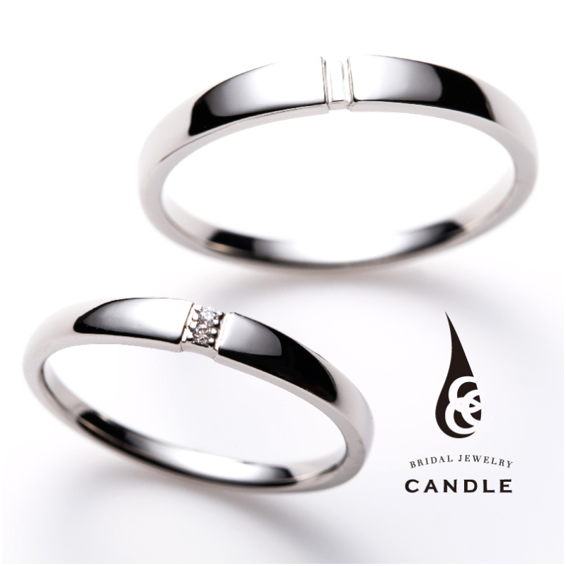 CANDLE 結婚指輪 Roll ロール