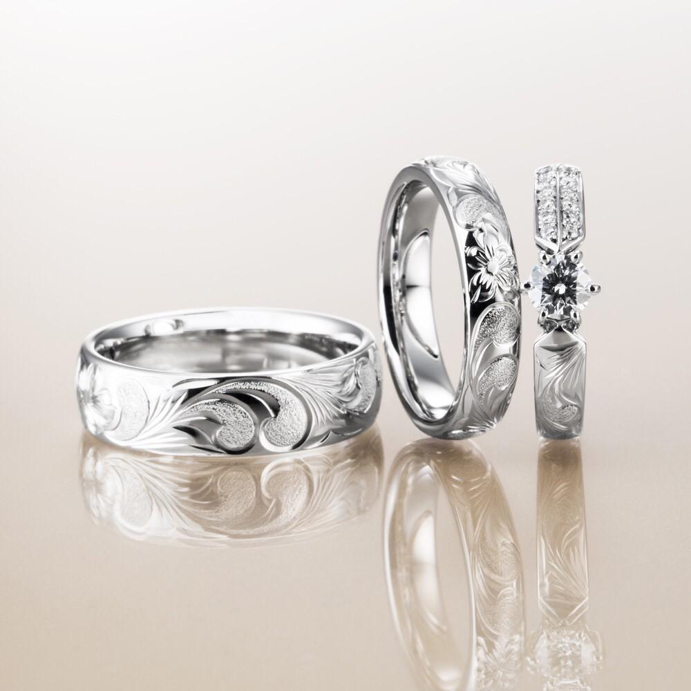 ハワイアンジュエリーマカナのゴージャス婚約指輪神戸三ノ宮兵庫garden5
