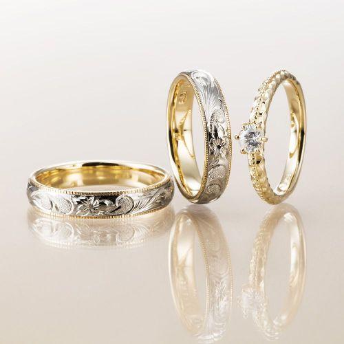 ハワイアンジュエリーマカナの婚約指輪7