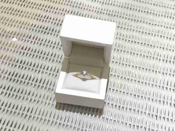 銀の指輪でプロポーズ神戸三ノ宮兵庫garden