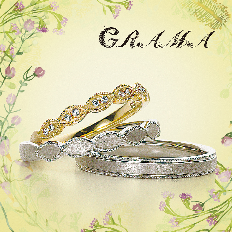 グラマダンディライオン結婚指輪マリッジリング安い神戸三ノ宮兵庫姫路garden2