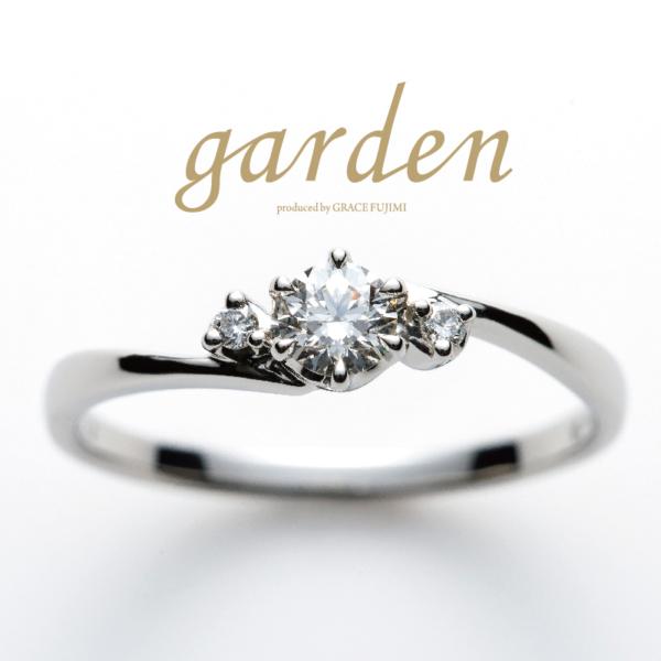 gardenオリジナルの婚約指輪 garden神戸三ノ宮
