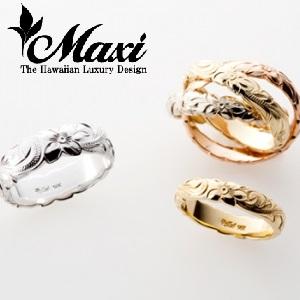 garden神戸三ノ宮SINGL Ring Maxi【マキシ】 | ハワイアンジュエリーの結婚指輪|婚約指輪