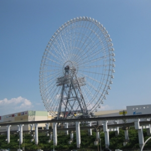 大阪gardenのサプライズプロポーズ Redhorse OSAKA WHEEL