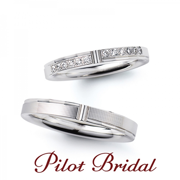 鍛造リングパイロットブライダル指輪メモリーの結婚指輪神戸三ノ宮兵庫姫路garden