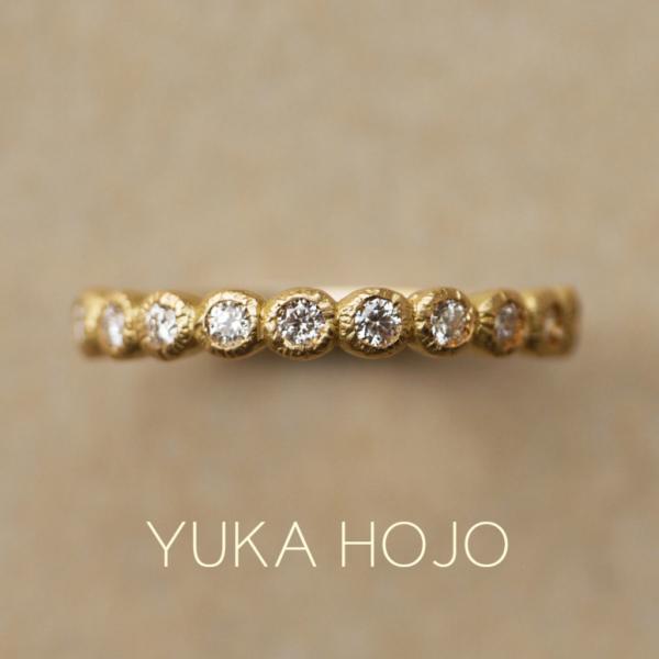 エタニティリングユカホウジョウブルーム結婚指輪婚約指輪神戸三ノ宮兵庫姫路garden