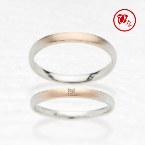 和テイストのひな(hina)で結婚指輪かき氷
