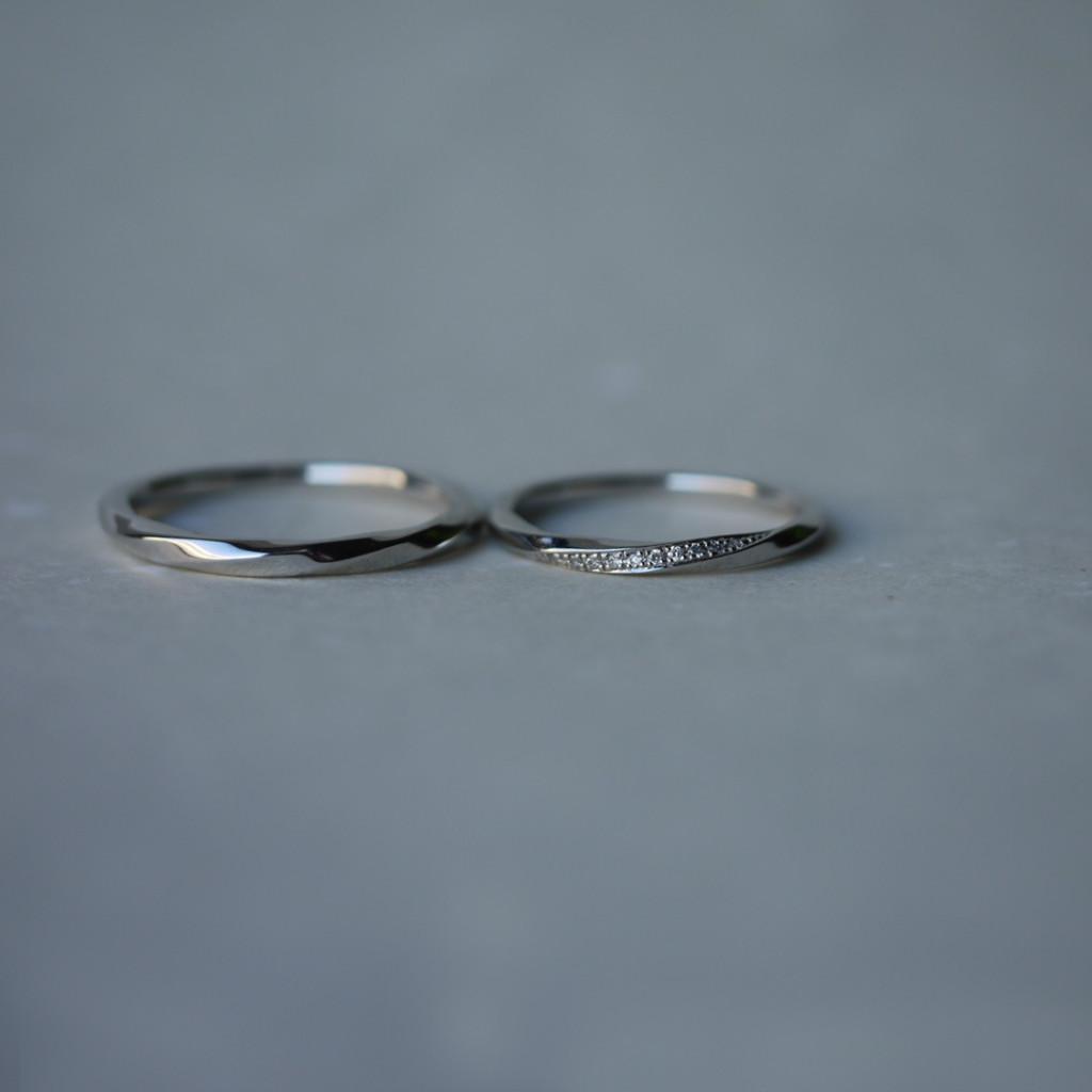 YUKAHOJOの結婚指輪ひかり【Ray of light】