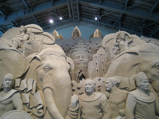 神戸のサプライズプロポーズ 砂の美術館