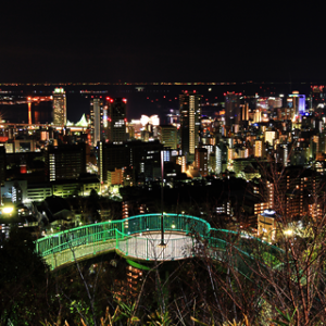 大阪gardenのサプライズプロポーズ ビーナスブリッジ