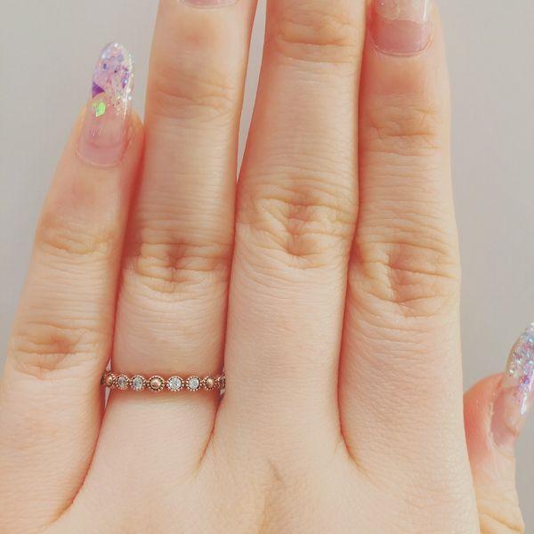 アムールアミュレット指輪ソレイユマリッジリング2