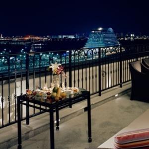 大阪gardenのサプライズプロポーズ ホテル ラ・スイート神戸ハーバーランド