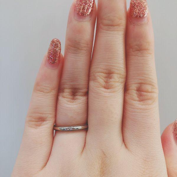 アムールアミュレット指輪フルール結婚指輪2