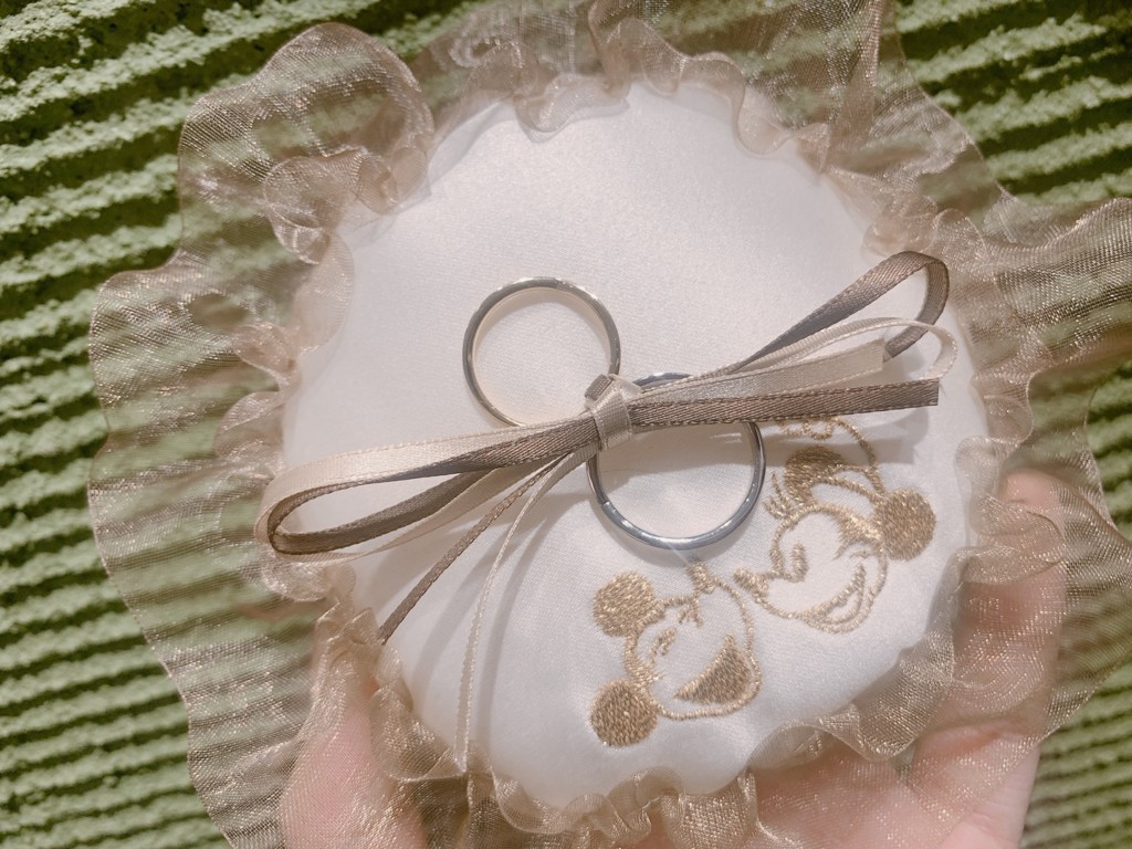 ディズニー結婚指輪婚約指輪神戸三ノ宮北野