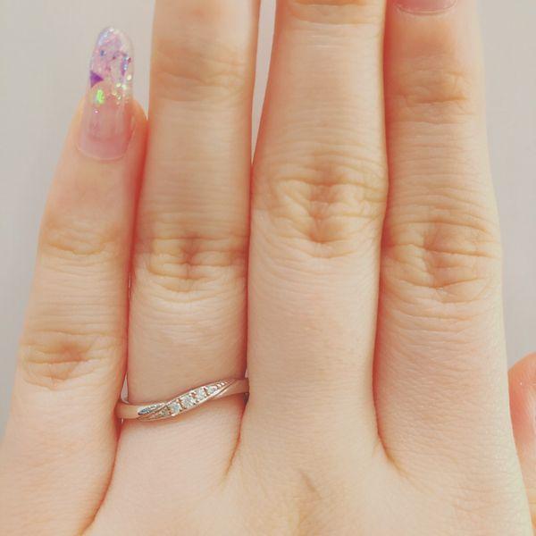 アムールアミュレット指輪ミエルマリッジリング2