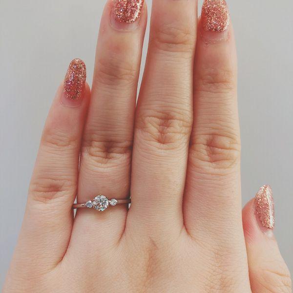 アムールアミュレット指輪フルール婚約指輪2