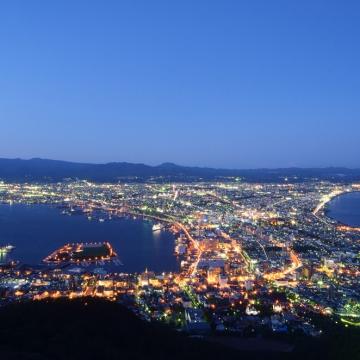 神戸のサプライズプロポーズ 函館山ロープウェイ