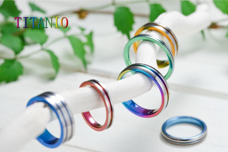 チタンの結婚指輪神戸市三ノ宮