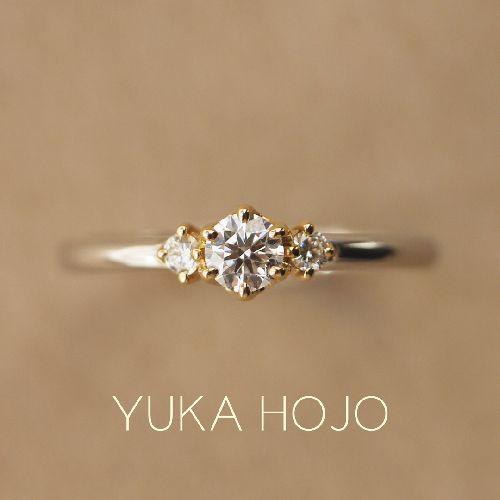 YUKAHOJOユカホウジョウの婚約指輪でストーリー