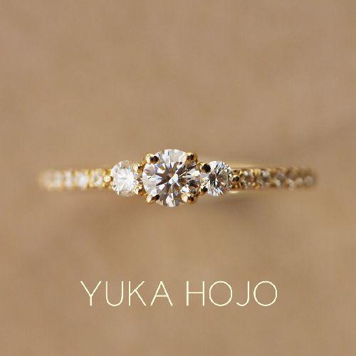 YUKAHOJOユカホウジョウの婚約指輪でコメット