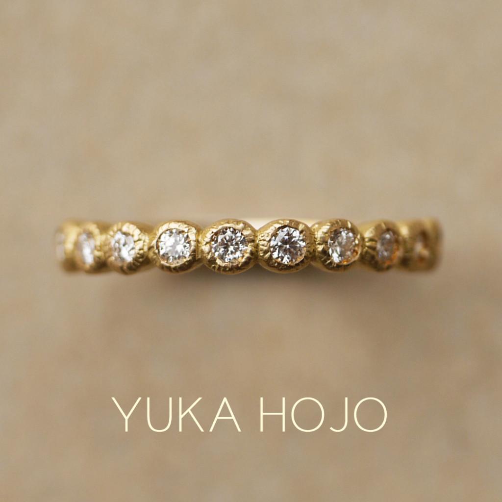 YUKAHOJOユカホウジョウの婚約指輪でブルーム