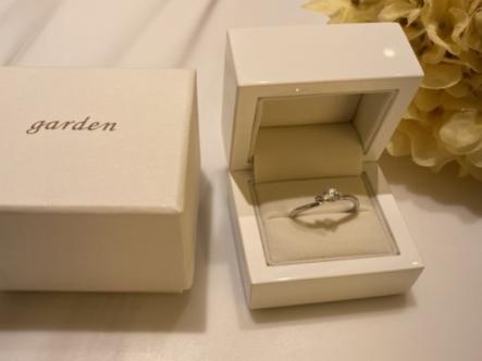 明石市 「gardenオリジナル」の婚約指輪をご成約