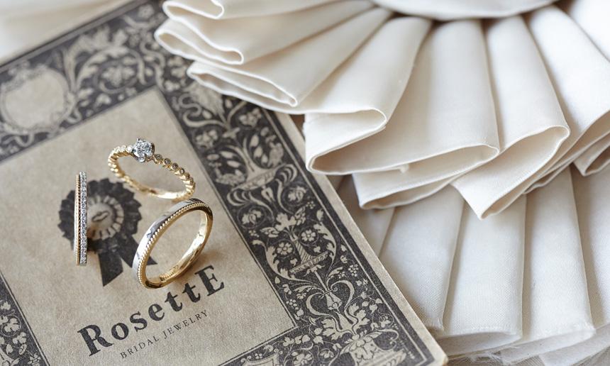 神戸三ノ宮おしゃれな婚約指輪のRosettE