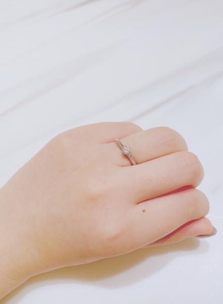 姫路市 RosettEの婚約指輪をご成約頂きました