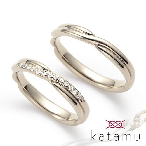 和テイストの結婚指輪神戸三ノ宮2