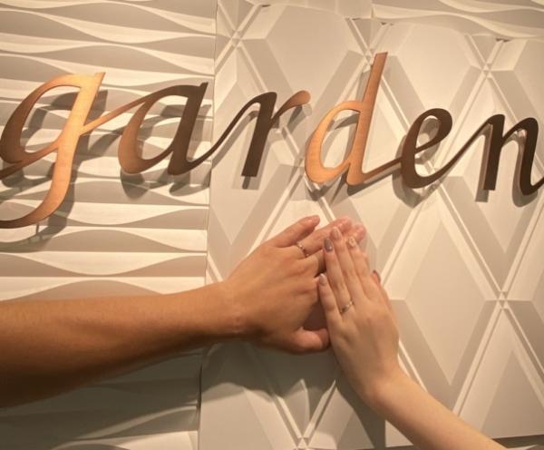 香川 高松市 Katamuの結婚指輪をご成約いただきました