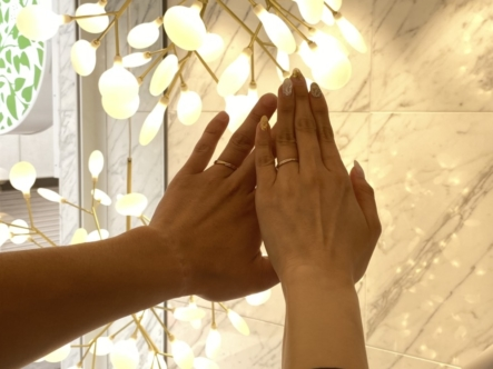 香川県 丸亀市 CoffretCouleur(コフレクルール)の結婚指輪をご成約頂きました