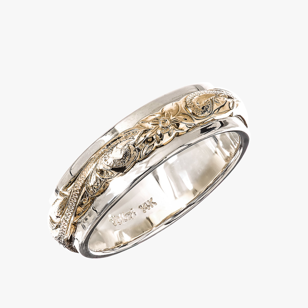 TWO-TONE Ring(ツートーンリング)5mm/3mm