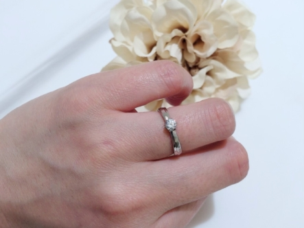 姫路市 neu spurの婚約指輪をご成約頂きました。
