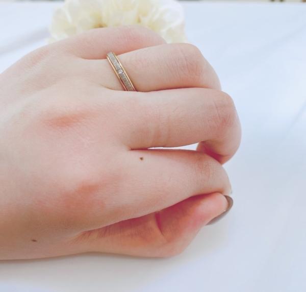 芦屋市 FISCHERの結婚指輪をご成約頂きました