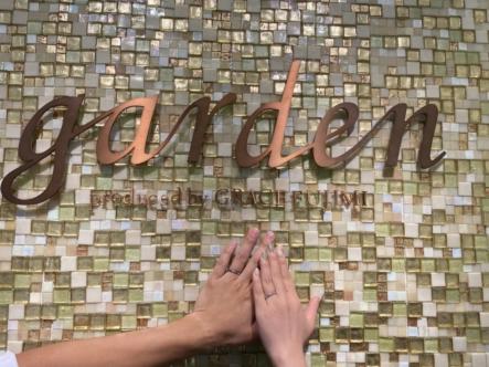 徳島県鳴門市 FISCHER(フィッシャー)の結婚指輪をご成約頂きました