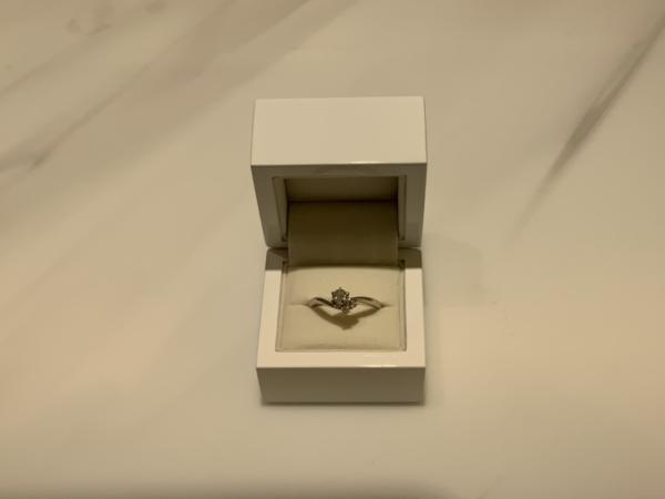 加東市 gardenオリジナルの婚約指輪をご成約頂きました。