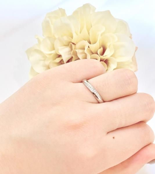 神戸市長田区 パイロットの結婚指輪をご成約頂きました
