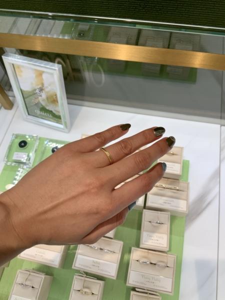 神戸市中央区 ORECCHIO  guira の結婚指輪をご成約頂きました。