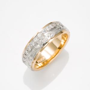 Twotone Royal Eternity Ring / ツートーンロイヤルエタニティリング
