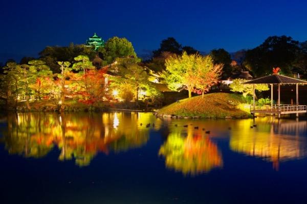 岡山後楽園|岡山県プロポーズスポット