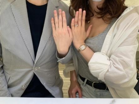 神戸市灘区 フィッシャーの結婚指輪