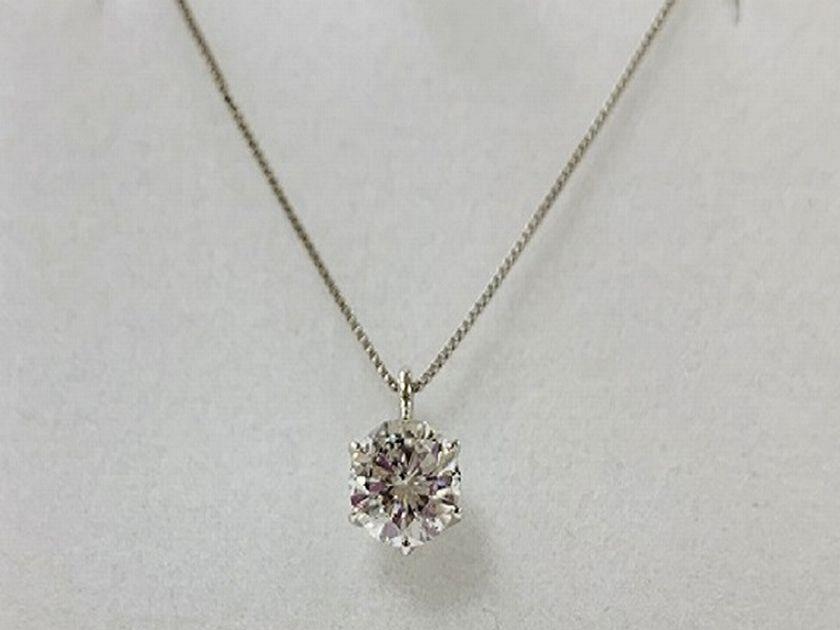 婚約指輪をダイヤネックレスにジュエリーリフォーム