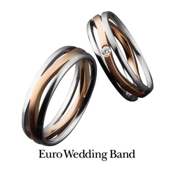 鍛造結婚指輪ユーロウエディングバンド神戸北野