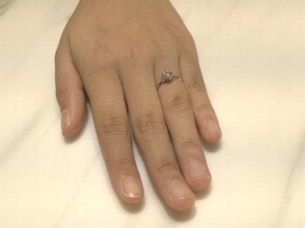 兵庫県西宮市 gardenオリジナル婚約指輪