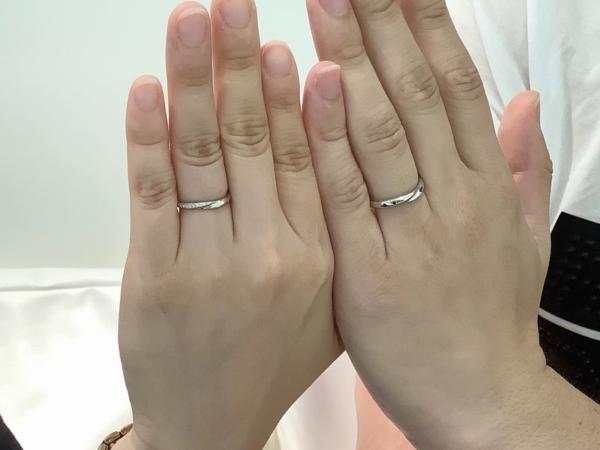 明石市 Mariage ent(マリアージュエント)の結婚指輪