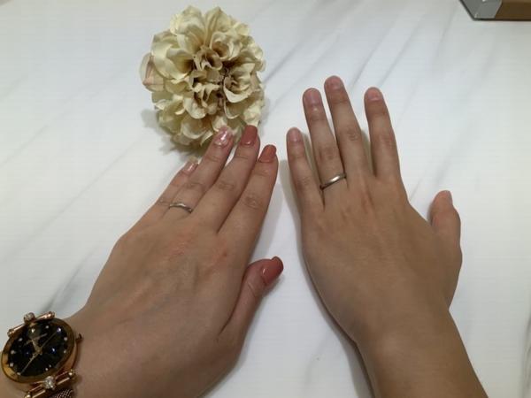 神戸市灘区 ECTURO(エクトゥーロ)とStelGiurare(ステルジュラーレ)の結婚指輪