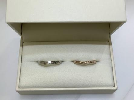 神戸市中央区 RosettE(ロゼット)の結婚指輪