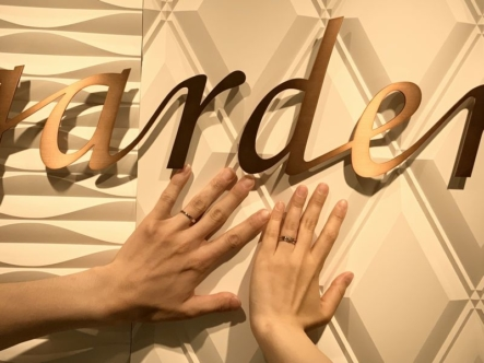 神戸市北区 katamu(カタム)の婚約指輪Lettet mitte(レテットミッテ)の結婚指輪