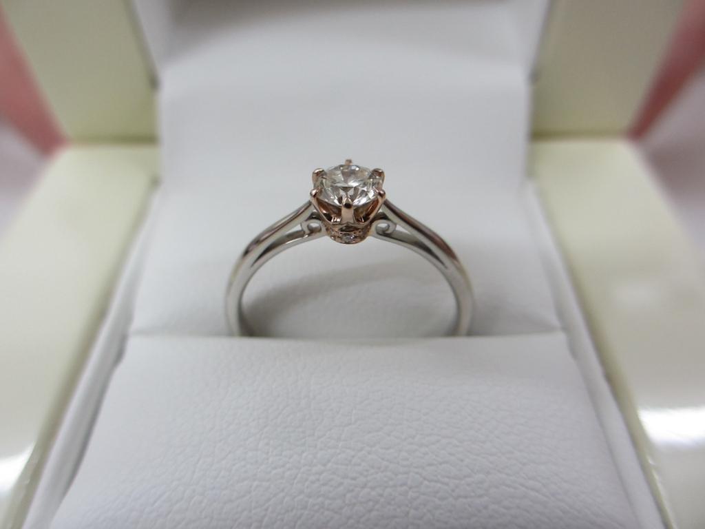 神戸祖母から代々受け継がれている婚約指輪